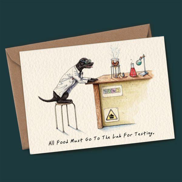 Lab Testing Card