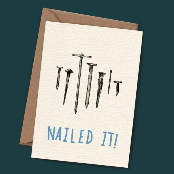 Nailed it Card