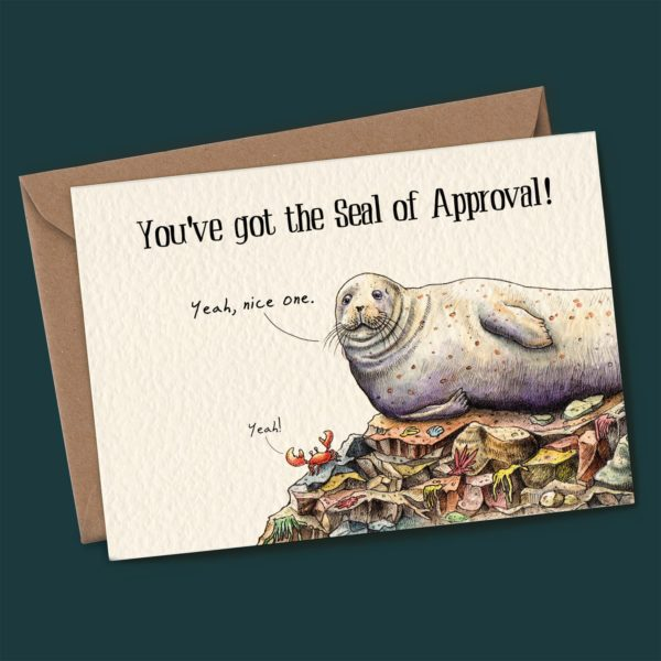 Seal Of Approval Card