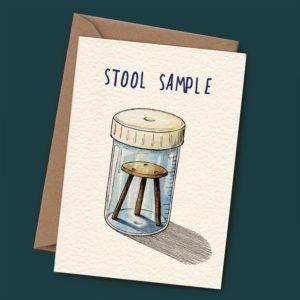 Stool Sample Card