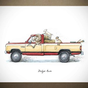 Dodge Ram Print