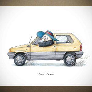 Fiat Panda Print