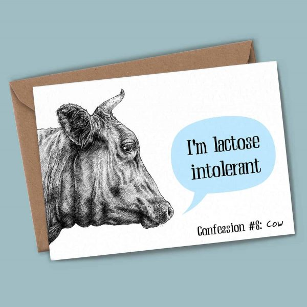Cow Confession Card