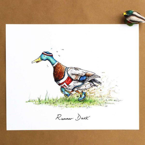 Runner Duck!