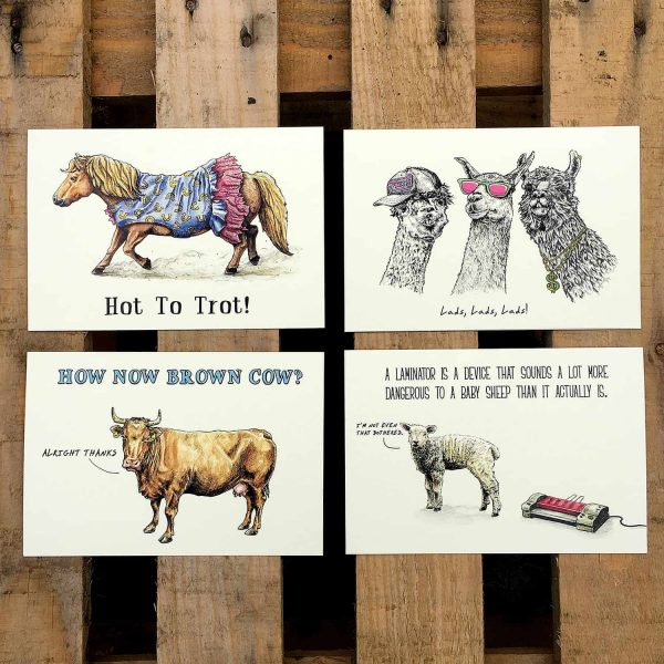 Farm Animals Cards Set