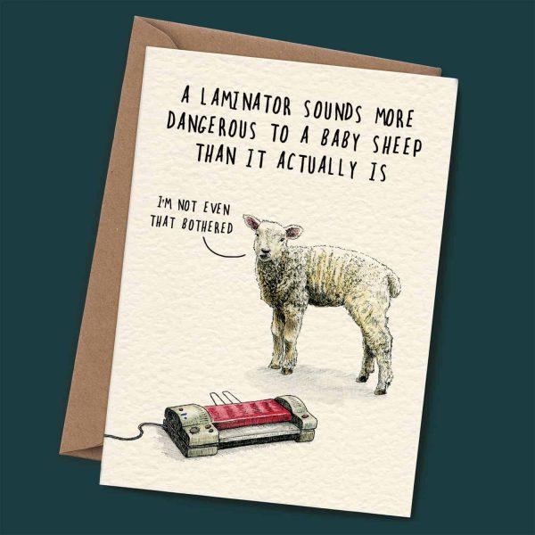 Laminator Card