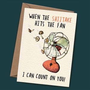 Shiitake – I Can Count On You!