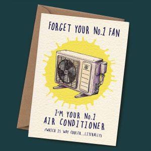 Number 1 Fan Card