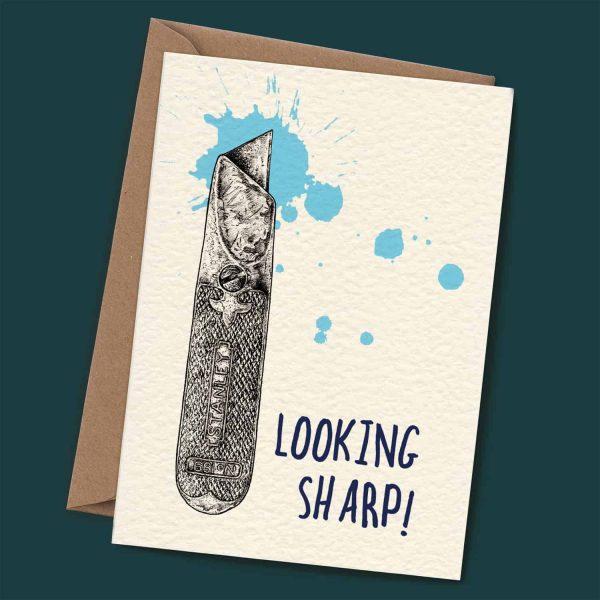 Looking Sharp Card