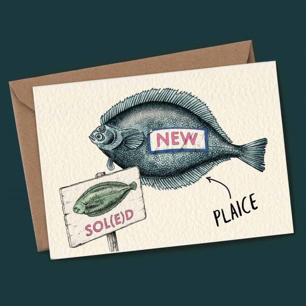 New Plaice Card