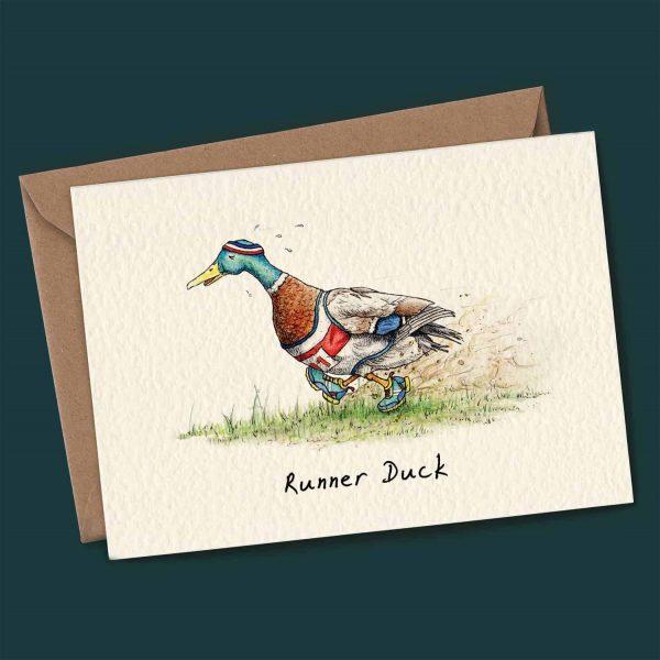 Runner Duck Card