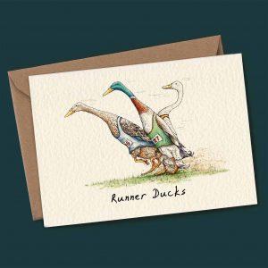 Runner Ducks Card