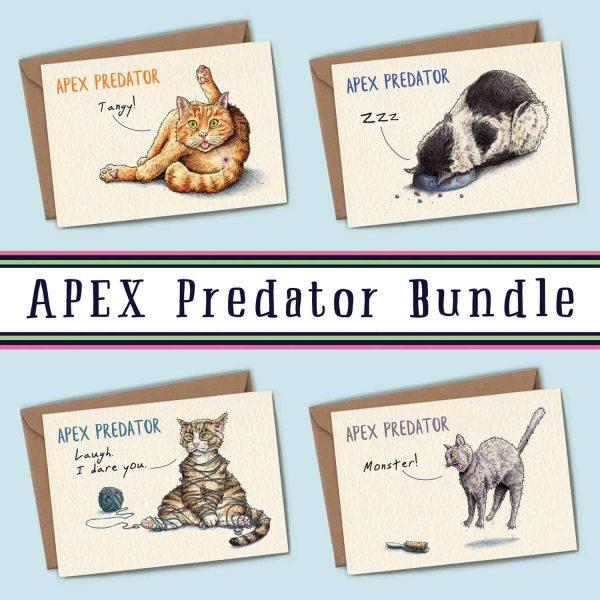 Apex Predator Cards Set