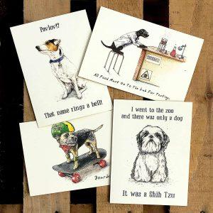 Barking Mad Dog Cards Set