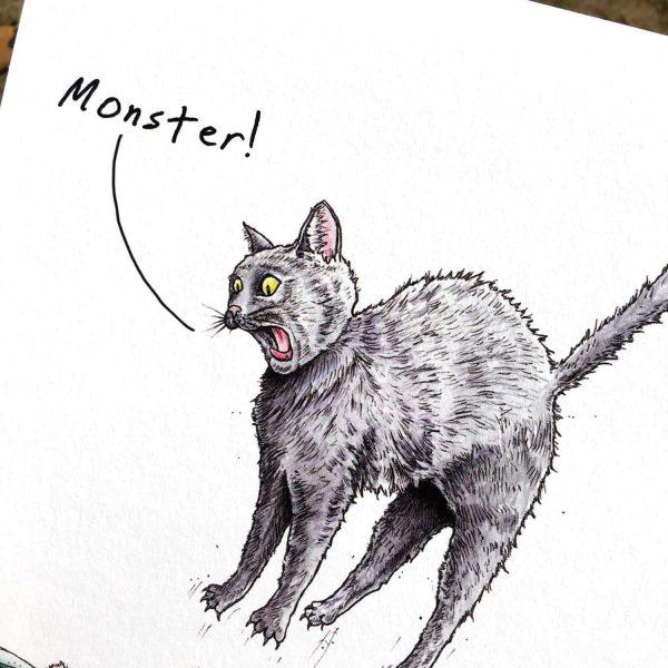 Apex Predator (Monster!) Print