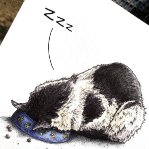 Apex Predator (Snooze) Print