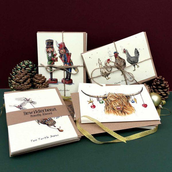 Christmas Card Full Set (Pack of 10)