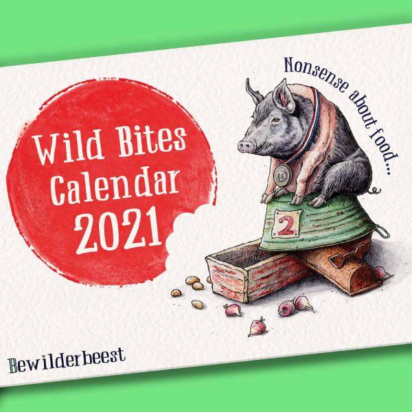 Wild Bites Calendar 2021