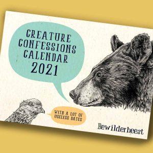 Creature Confessions Calendar 2021