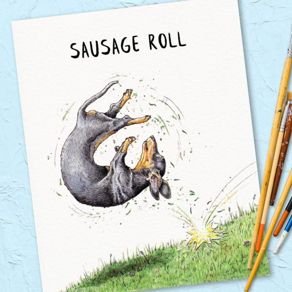 Sausage Roll Print
