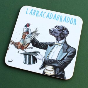 Labracadabrador Coaster Set