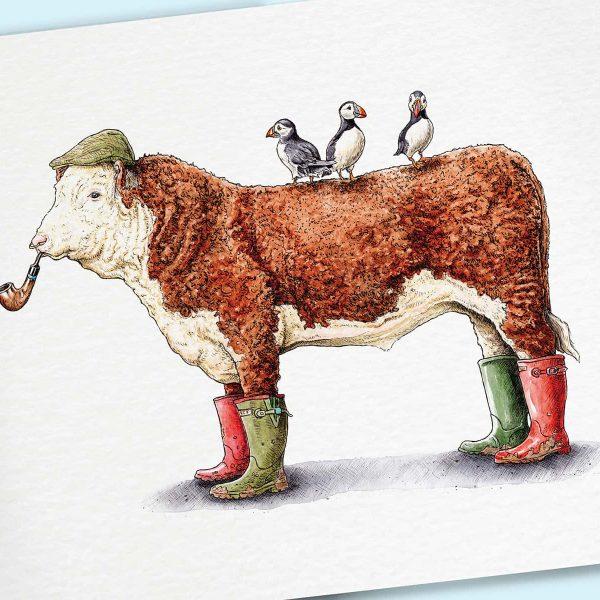 Beef Wellington Print