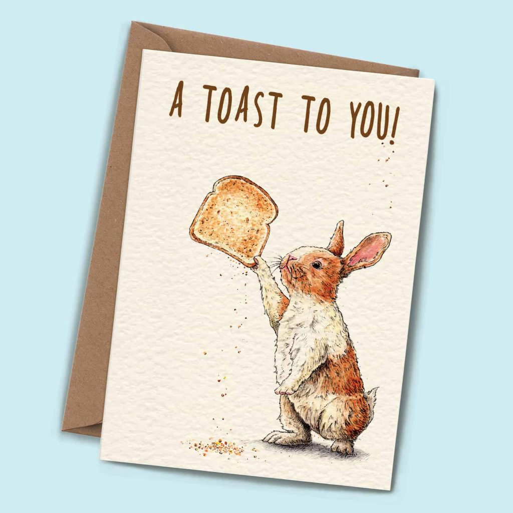 Congratulations Toast To You Card