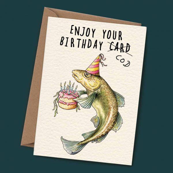 Birthday Cod Card