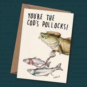 Cod's Pollocks Card