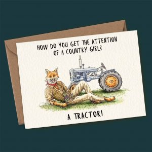 Country Girl Card
