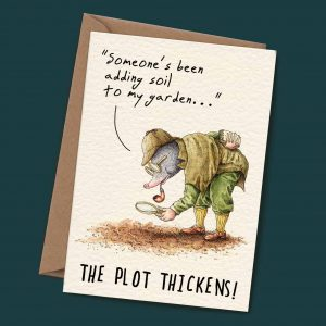 Plot Thickens Card