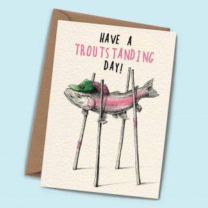 Troutstanding Card