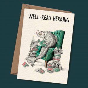 Well Read Herring card