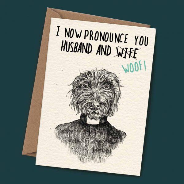 Husband and Woof Card