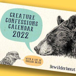 PRE-ORDER Creature Confessions Calendar 2022