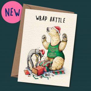 Christmas Wrap Battle Card