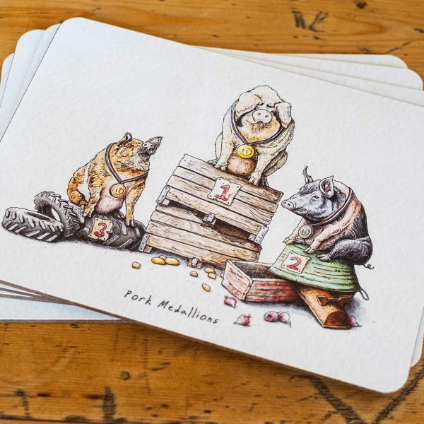Set of 4 Placemats (2)