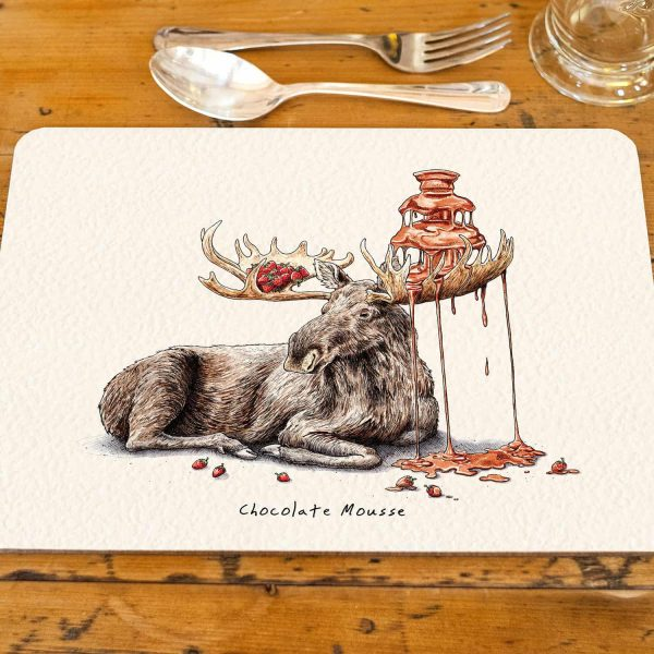 Chocolate Mousse Placemat