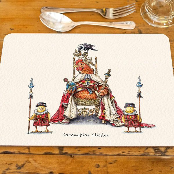 Coronation Chicken Placemat