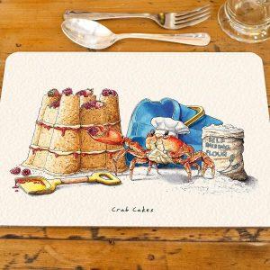 Crab Cakes Placemat