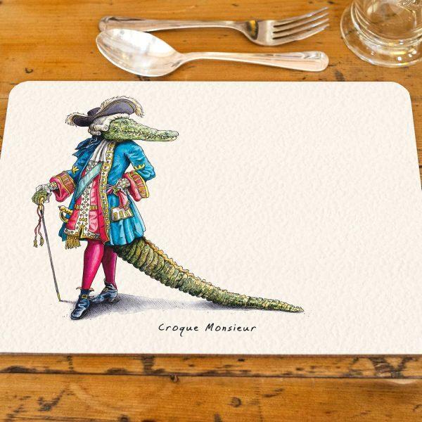 Croque Monsieur Placemat