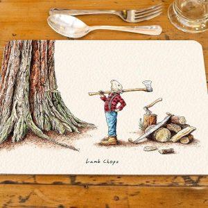 Lamb Chops Placemat